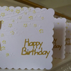 Pack of 3 Blossom Happy Birthday Cards