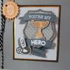 You're My Hero Male Card