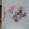Heart of Flowers Birthday Card