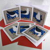 Pack Of Six Blank Seagull cards