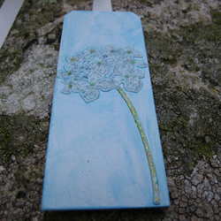 Bookmark with Delicate 3D Flower Design