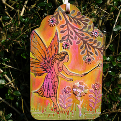 Decorative Forest Fairy Tag