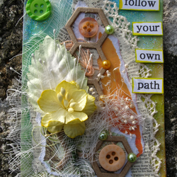 Follow Your Own Path ACEO