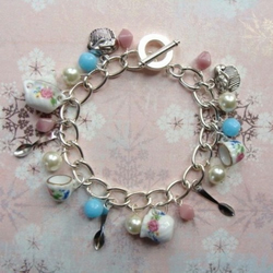 Afternoon Tea Charm Bracelet