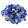 Glass Bead Mix - Galaxy Mix - Blue, White, Yellow (GB0027)