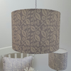 30cm 'Lucy' lampshade in grey