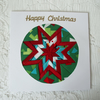 Christmas card - Patchwork