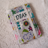 2014 Diary cover – flowers & birds