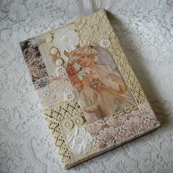A4 Vintage style journal or sketchbook
