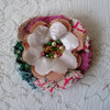 SALE! Shabby chic corsage