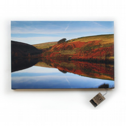 "Reflections of Bilberry 24 x 16"" Limited Edition HDR Canvas Print"
