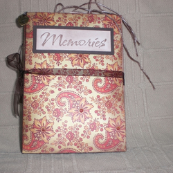 Memories Mini Book / Photo Album / Scrapbook