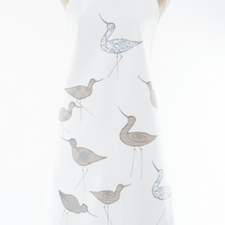 Coastal Apron Screen Printed Avocets