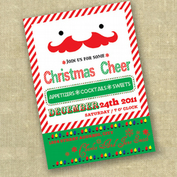 PRINTABLE CHRISTMAS INVITATION - personalized