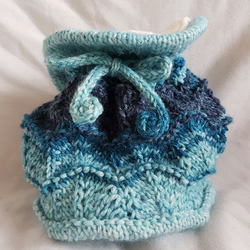 Ocean Waves chalk bag