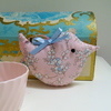 SALE Mini Lavender Bird, Pale Pink Blossom Scented Sachet Bird Mother's Day Gift