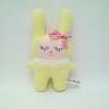 TAKE 30% SALE Little Yellow Bunny Fleece Soft Toy, Bunny Plush, Sweet Baby Bunny
