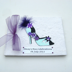 Hen Night Book - Purple Shoe