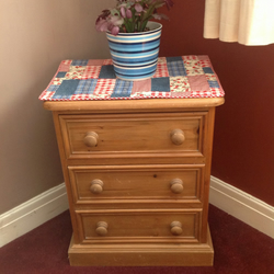 Patchwork Table topper