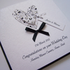 Beautiful Wedding Engagement Anniversary Congratulations Card - personalised.