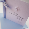 First Holy Communion Card - personalised with name, date and venue.