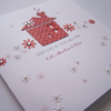 New Home Congratulations Hand-Made Luxury Card.