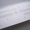 Hand-Made Personalised Wedding Congratulations Card.
