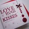 Luxury Hand Made Christmas Card - Husband/Wife, Boyfriend/Girlfriend, can be personalised.