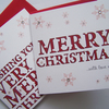 Hand-Made Multipack Merry Christmas Greetings Cards.