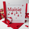 Hand made and personalised 'Name' Christmas card!