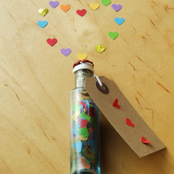 Heartfelt message in a bottle, perfect for Mothers Day!