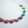 Custom listing for Janis Rainbow shells necklace