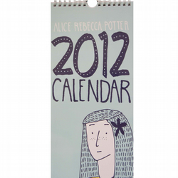 Sale 2012 Calendar with Detachable Postcards with Free Shipping