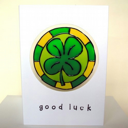 Good Luck Card, FREE P&P