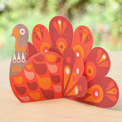 Turkey Paper Ornaments