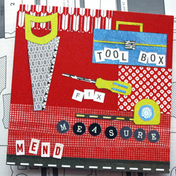 Tool Box Greeting Card