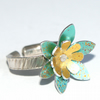 SALE 40% OFF Spring flowers ring