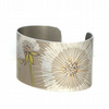 SALE 30% OFF - Dandelion wishes cuff - narrow