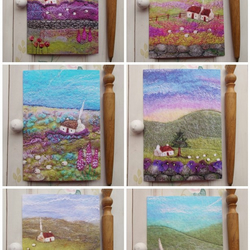 Set of Six Printed Greetings Cards