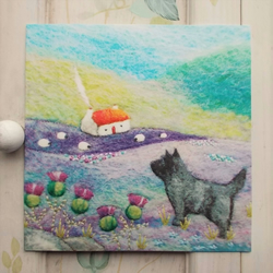 Cairn Terrier Printed Greetings Card
