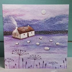 Winter's Garden Printed Greetings Card