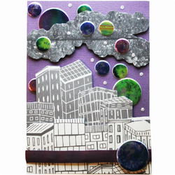 Galaxy City A6 Card