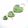 Green Hearts hanging Decoration