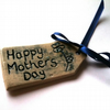 Mothers Day Ceramic Tag - Blue
