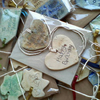 Ceramic Heart Gift Tags - set of 2