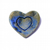 Blue Heart Brooch