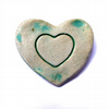 Green Heart Brooch