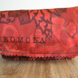 Vintage Art Nouveau Style Purse in Red