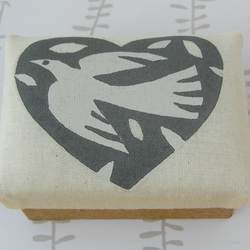 White Dove Trinket Box