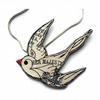 Swallow Necklace by EllyMental Jewellery